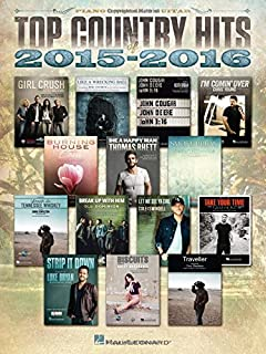 Book Cover: Top Country Hits of 2015-2016