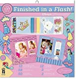 Finished In A Flash Page Kit 12X12-Disney Princess