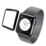 Apple Watch Screen Protector, MIZOO 2 Pack Screen Protector Compatible iWatch 38mm Anti-Scratch Bubble-Free HD-Clear Easy Installation Tempered Glass (38mm (Color: 38mm)