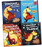 Tom Fletcher and Dougie Poynter The Dinosaurs That Pooped Collection 4 Books Pack Set (The Dinosaur That Pooped A Lot!, The Dinosaur That Pooped The Past, The Dinosaur That Pooped Christmas, The Dinosaur That Pooped A Planet)