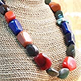 Rainbow Stone Necklace (ASEAN Agenda)