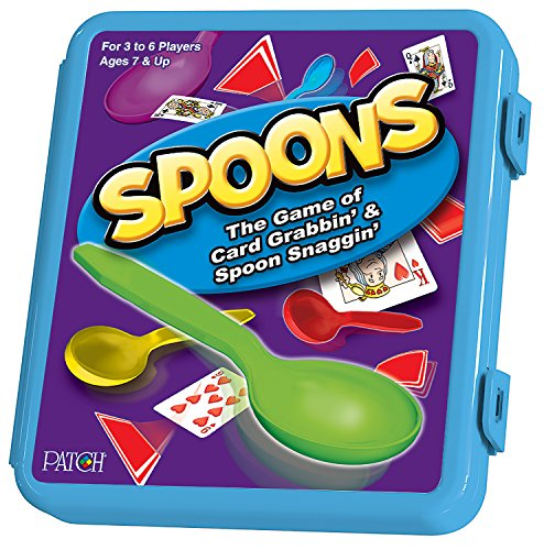 Spoons Card Game in a Plastic Box (Spoon Game compare prices)