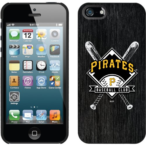 Best Price Pittsburgh Pirates - Bats design on a Black iPhone 5 Thinshield Snap-On Case by Coveroo