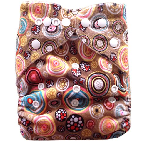 Besto Baby One Size Fit All Pocket Cloth Diaper Cover Reusable Washable Fit 6-33 Lbs 0M28 front-785184