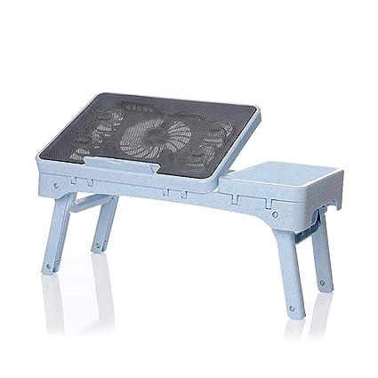 uzi-lazy persone benessere Fashion Scrivania per PC portatile, pratico pieghevole multifunzione calore tavolo piccolo b