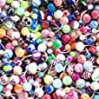 Belly Button Ring Lot 50 Assorted Belly Rings Surgical Steel 14 Gauge Banana Piercing (50 Pieces)