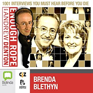 Enough Rope with Andrew Denton: Brenda Blethyn Radio/TV Program