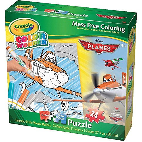 Cardinal Games Color Wonder Puzzle - Planes