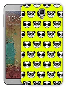 """Humor Gang Cute Pandas Green Printed Designer Mobile Back Cover For """"Samsung Galaxy Note 3"""" (3D, Matte, Premium Quality Snap On Case)"""