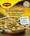 Maggi Fix und frisch für Schichtkohl mit Hackfleisch, 11er Pack (11 x 31 g) von Maggi - Gewürze Shop