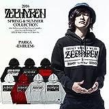 (ゼファレン)ZEPHYREN PARKA -EMBLEM- BLACK-WHITE M