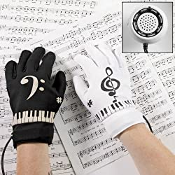 Piano Gloves Electronic Musical Instrument
