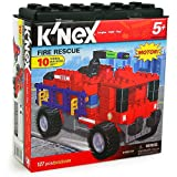 K'Nex Fire Rescue Set [10 Model Building Set - 127 pcs]