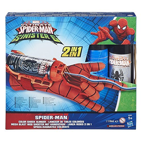 Hasbro - Ultimate Spider Man Guanto Spararagnatele (colori assortiti)