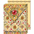 Bejeweled Florentine Ornate Magnetic Closure Mini Notepad