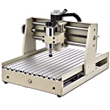 4AXIS 3040 CNC Router, 400W 3D Desktop Woodworking Milling Drilling Carving Machine CNC Engraving Tool for Wood PVC Logo Signs Crafts