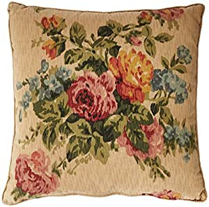 Rose Tree Decorative Pillows : Amazon.com - Rose Tree Hamilton Mitered Pillow, 17 by 17-Inch - Throw Pillows