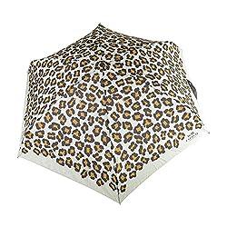 Coach Ocelot Print Mini Umbrella 64148 Chalk Multi