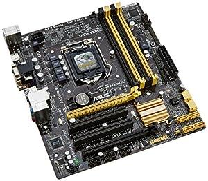 Asus H87M-PLUS Mainboard Sockel LGA 1150 (micro-ATX, Intel H87, DDR3 Speicher, 6x SATA III, HDMI, DVI, 4x USB 3.0)