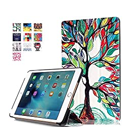 ProElite Designer Smart Flip Case cover for Apple iPad Mini 4 (Design-Tree) [ Will FIT only mini 4]