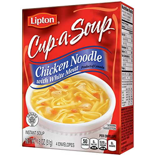 Lipton Cup A Soup, Chicken Noodle with White Meat 1.8 oz (Pack of 12) (Lipton Soup Chicken Noodle compare prices)