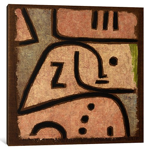 Yor goddess Canvas Art Print 1 Piece Wi 'In Memoriam' by Paul Klee 1.5 x 18 x 18-Inch (Famous People Wi compare prices)
