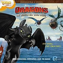 Die Insel der Drachen (Die Wächter von Berk 2) (       ungekürzt) von Thomas Karallus Gesprochen von: Wolf Frass, Konrad Bösherz, Hannes Maurer, Nico Sablik, Karl Schulz