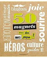 50 Magnets Merci papa !