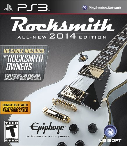 "Rocksmith 2014 Edition - ""No Cable Included"" Version For Rocksmith Owners - Playstation 3 front-326391"