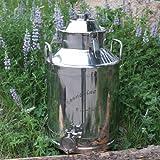 Moonshine Distiller 8 Gallon Milk Can Distilling Boiler w/ Fittings