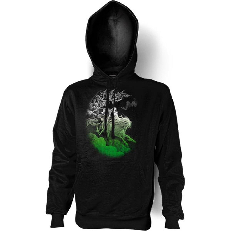 Sweatshirt mit Kapuze – Hoodie Halloween Aufdruck: Ghost Rider – fetziges Grusel Motiv günstig online kaufen