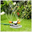 three arm multi-position rotating sprinkler with FREE HOSE CONNECTOR +free delivery