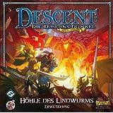 Heidelberger HEI0602 - Descent 2 Edition, Die Höhle des Lindwurms, Strategiespiel, Erweiterung
