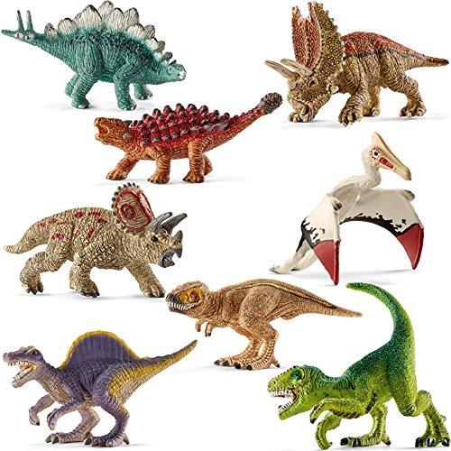 Schleich-Mini-Dinosaures-14532--14539-8-pices