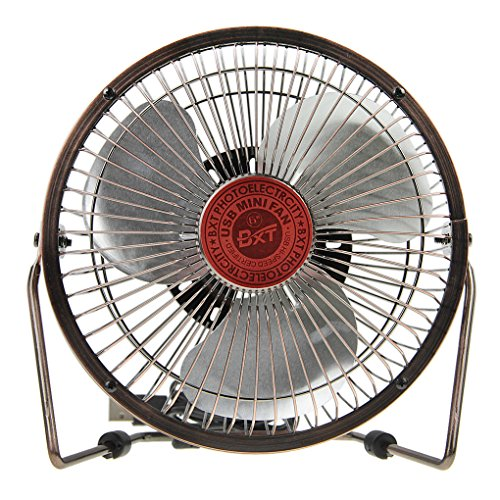bxt-6-portable-retro-mini-usb-fan-light-weight-360-degree-rotating-desktop-pc-cooling-mini-fan-bronz