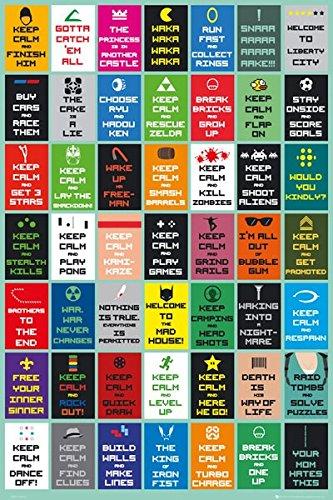 GB eye, Keep Calm Gaming New, Maxi Poster, 61x91.5cm