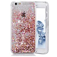 Urberry Iphone 5 Case,Running Glitter Cover, Luxury Bling Glitter Case for iPhone 5/5S/SE with a Screen Protector by Urberry