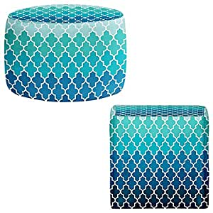 .com - Foot Stools Poufs Chairs Round or Square from DiaNoche Designs ...