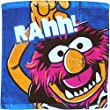 "Children's Disney Super Soft The Muppets Face Cloth Wash Flannel Towel (Animal ""RAHH!"")"