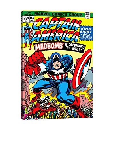 Marvel Comics Gallery Captain America Issue Cover #193 Canvas Print