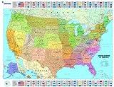 Michelin USA Political Map (Maps/Wall (Michelin))