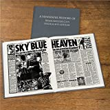 Personalised MANCHESTER CITY Football Newspaper Book Gift For Men/Dad/Christmas/Birthday