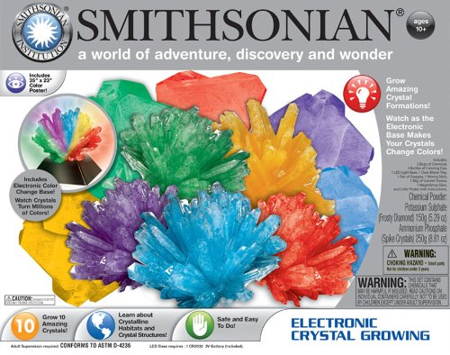 Smithsonian Electronic Crystal Growing (Supreme Top Form compare prices)