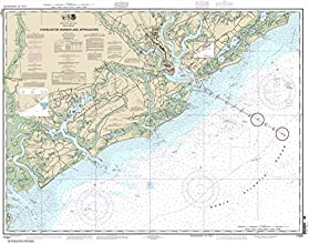 NOAA Chart 11521 Charleston Harbor and Approaches 346 X 44 TRADITIONAL PAPER