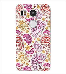 PrintDhaba Pattern D-5278 Back Case Cover for LG NEXUS 5X (Multi-Coloured)