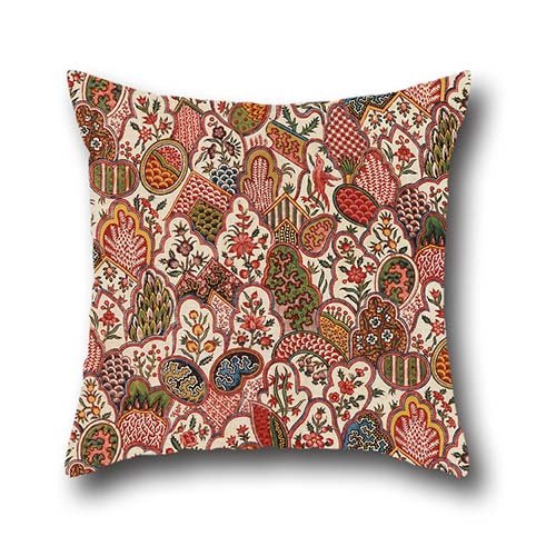 Oil Painting Oberkampf Cie. - Textile Cushion Cases 18 X 18 Inch / 45 By 45 Cm Best Choice For Bar Seat,him,car,family,teens Boys,dining Room With Each Side