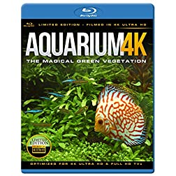 Aquarium 4K - The Magical Green Vegetation [Blu-ray]