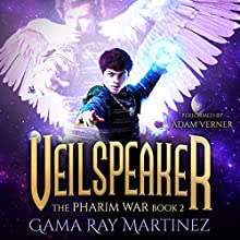 Veilspeaker: Pharim War Book 2 Audiobook by Gama Ray Martinez Narrated by Adam Verner