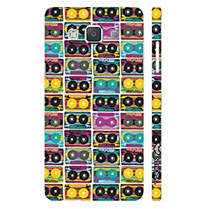 Samsung Galaxy A5 The Old Way of Music - colourful designer mobile hard shell case by Enthopia