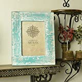 Casa Decor Premium Collection Of Wooden Photo Frame 5x7 Photos Xmas Hanging Or Table Top Decorations With Rustic...